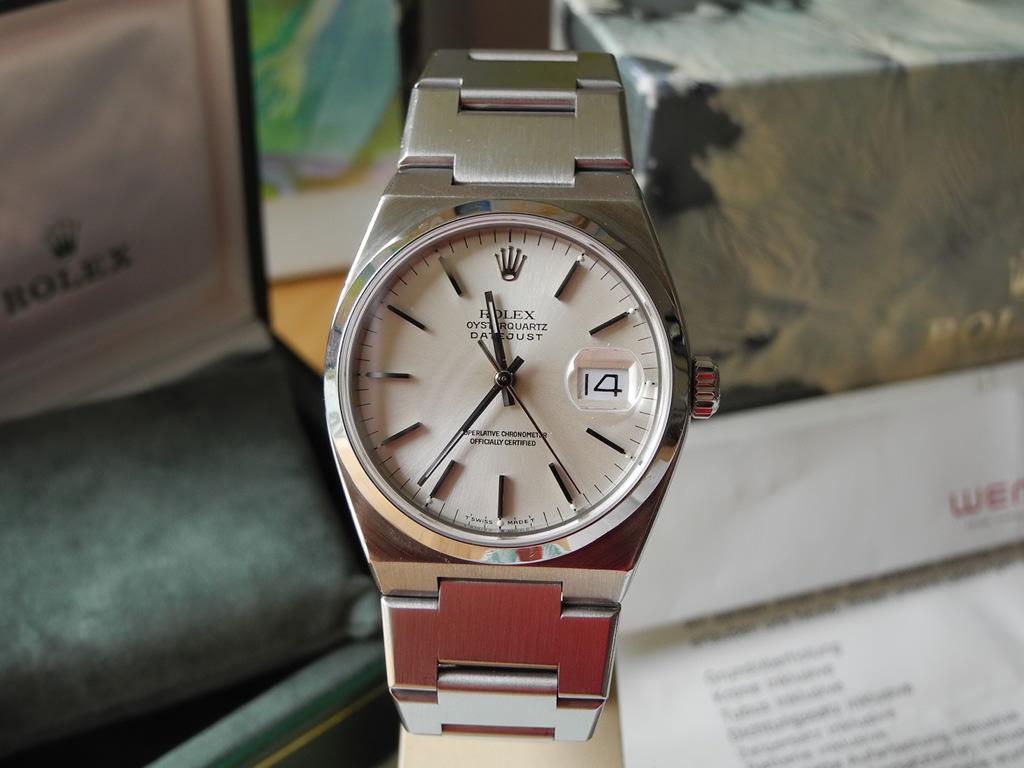 Rolex Oysterquarz Datejust Uhr