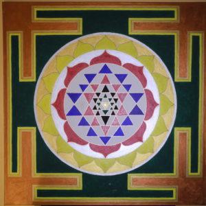 ShriYantra -Tantrisches Prinzip universeller Einheit