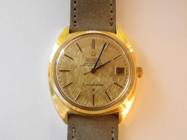 Omega Con-stellation 18 K 750 Gold Vintage 1968