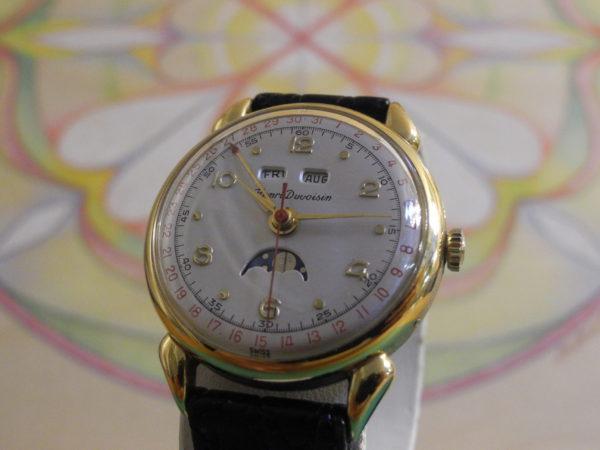 Henry Duvoisin Triple Date Mondphase Cornavin Watch